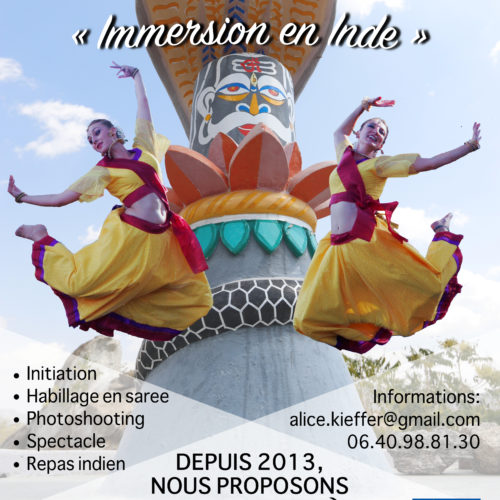 spectacle immersion en Inde