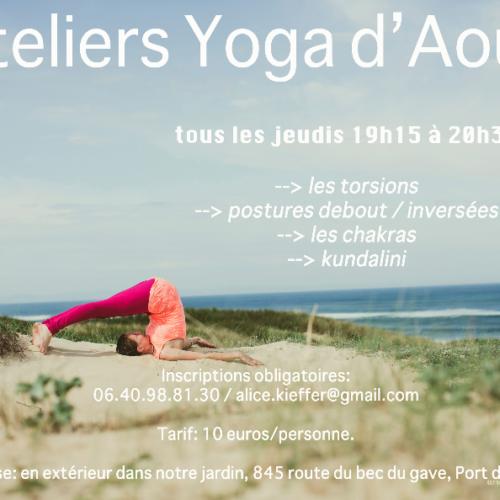 yoga port de lanne